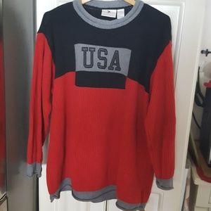 Elisabeth 2 USA Sweater Rolled Neckline & Cuffs